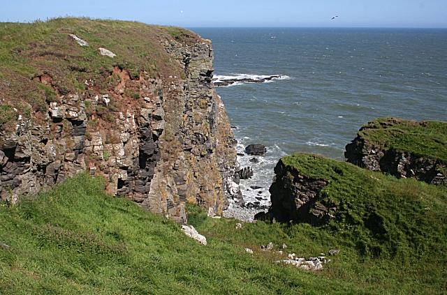 Cliff near The Veshels