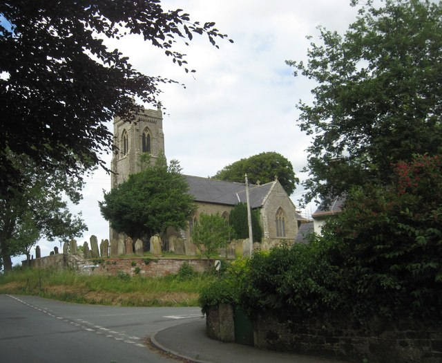 St. Andrew's Church in Thursby