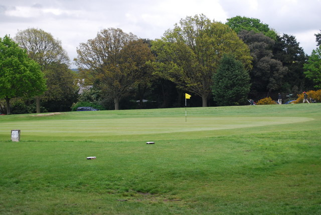 Golf hole, Beckenham Place Park