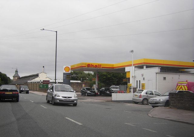 Petrol Station on Caton Road