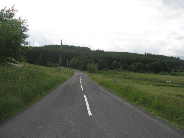 The B709 at Garwaldwaterfoot