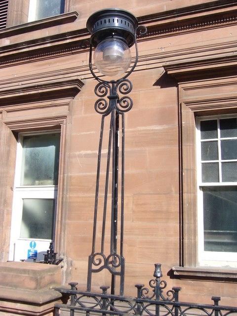 Edinburgh street lamp