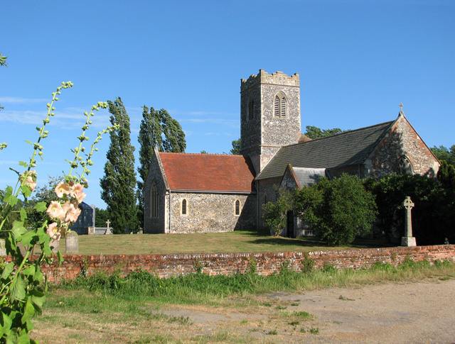 St Mary's church in Aldeby