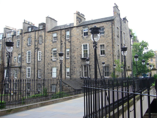 Edinburgh gas lamps