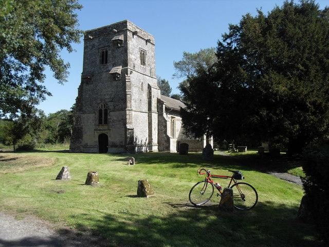 St. James' church North Newnton
