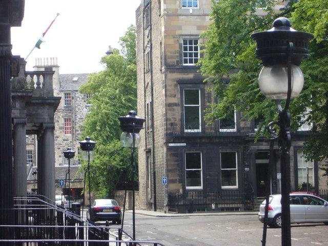 Gas lamps in Rutland Square