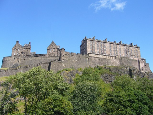 The Castle from Castle Terrace