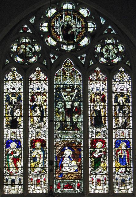 St Edmund's church in Hunstanton - east window