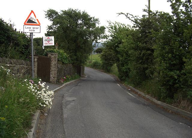 Cowlishaw Road, Werneth Low