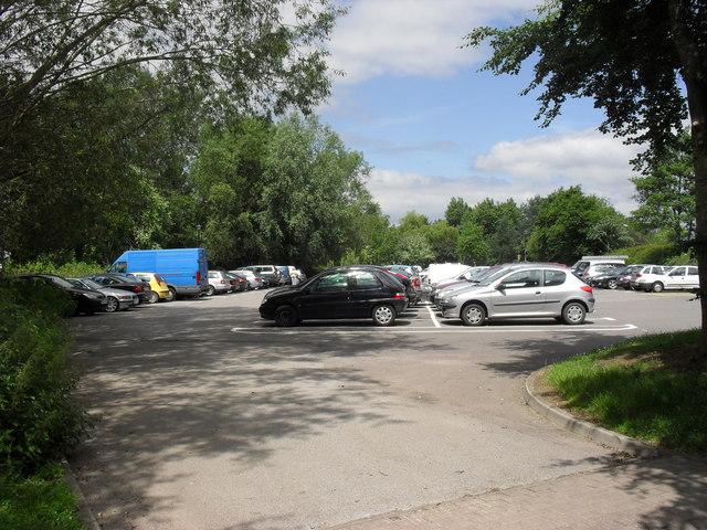 Station Road car park, Malmesbury