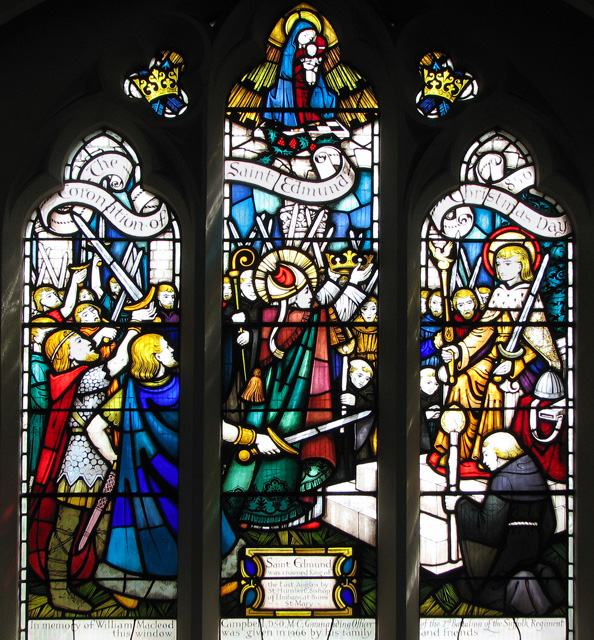 St Edmund's church in Hunstanton - C20 stained glass