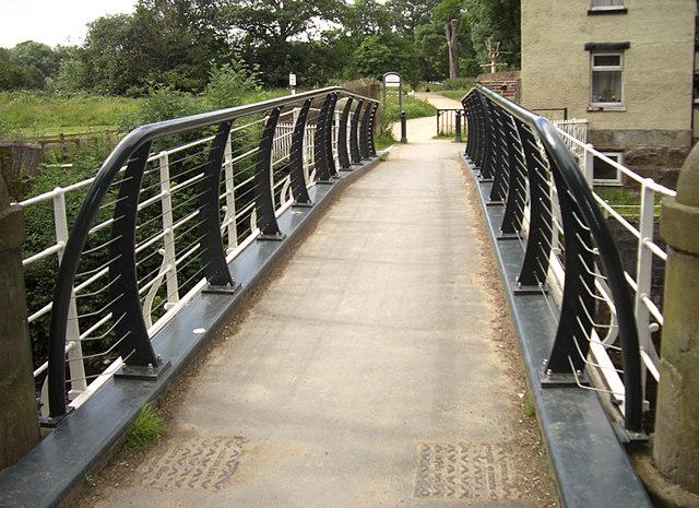 Iron Bridge, Brabyns Park, Marple Bridge