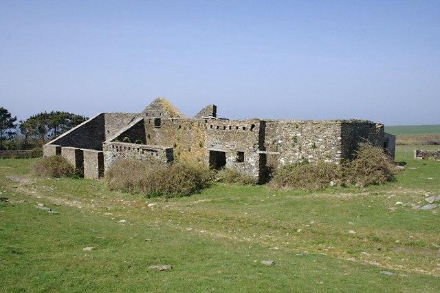 Ruined Farm Buildings at Dannonchapel