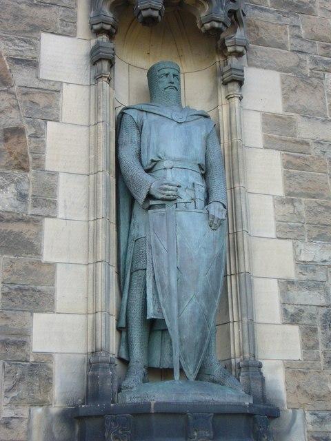 William Wallace statue, Edinburgh Castle