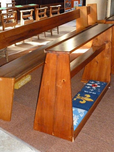 St John the Apostle, Marchwood- choir stalls