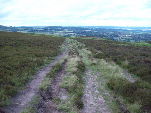 Track on Totley Moor