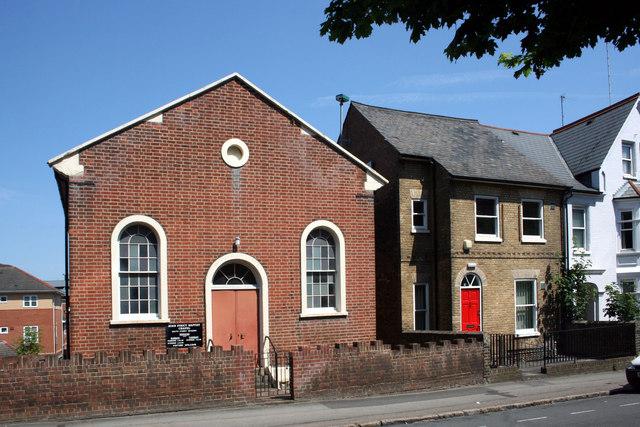 Zoar Strict Baptist Chapel