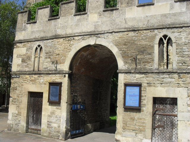 Malmesbury Abbey entrance