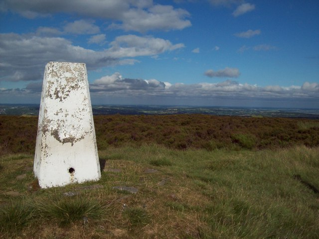 Triangulation Pillar on Totley Moor