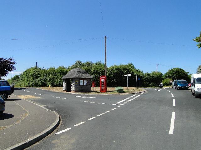 Hub of the village