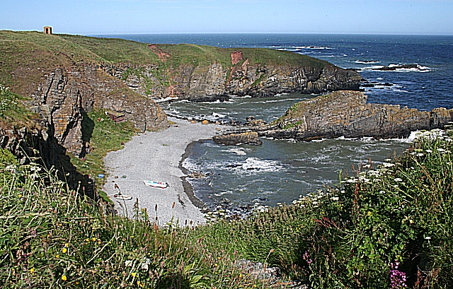 The Beach at Whinnyfold