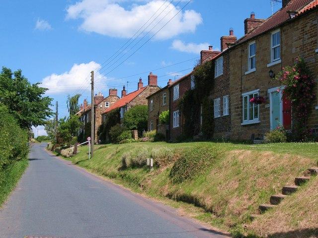 Borrowby main street - top end