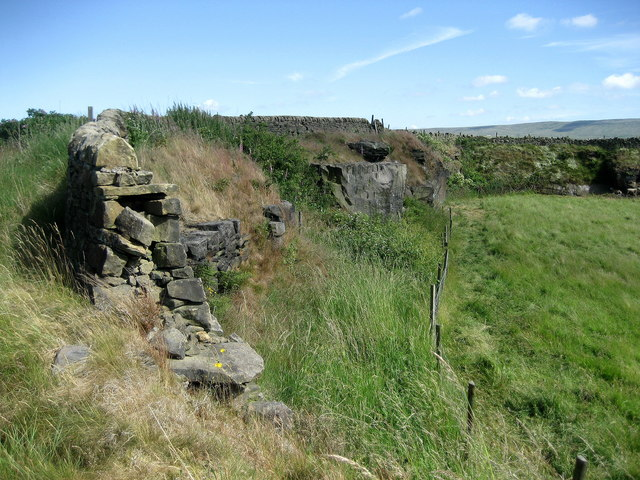 Disused Quarry, Winewall