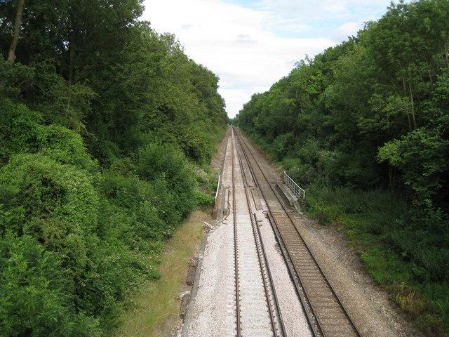 Railway between Godstone and Edenbridge
