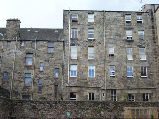 Tenement backs, Fountain Close