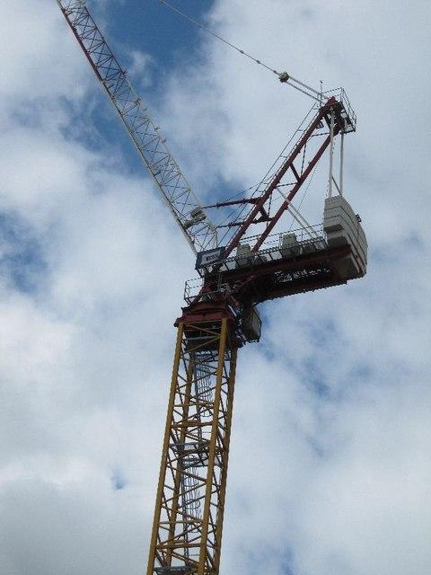 Top of the crane