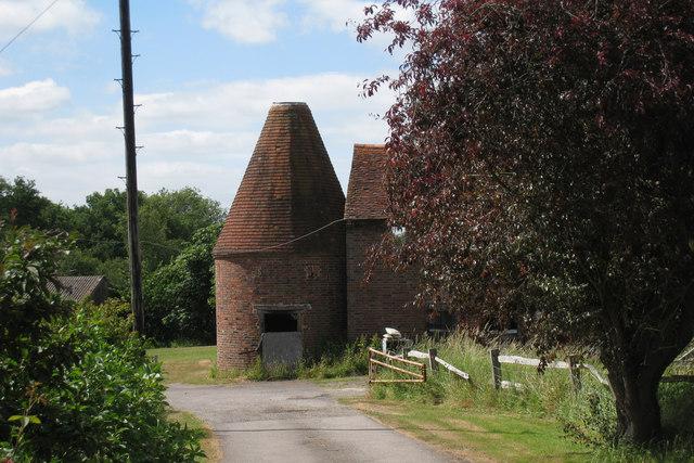 Unconverted Oast House at Spratsbrook Farm, Eridge Road, Tunbridge Wells, Kent
