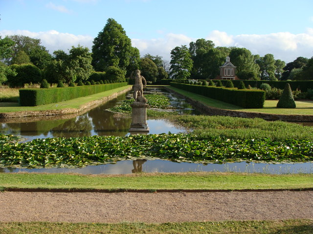 Westbury Court Garden - Canal from the A48 car park