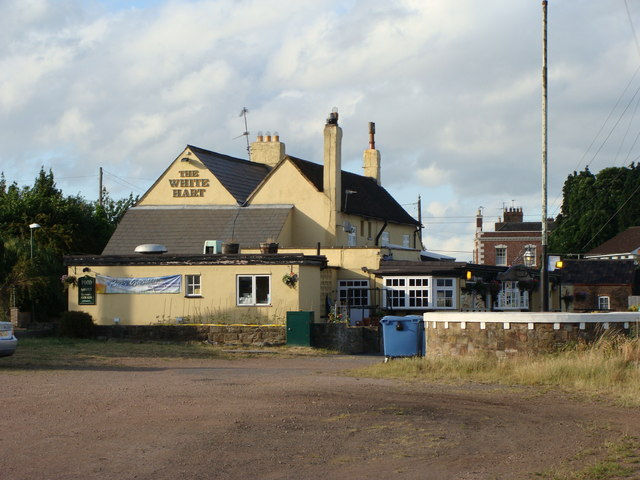 The White Hart pub at Broadoak