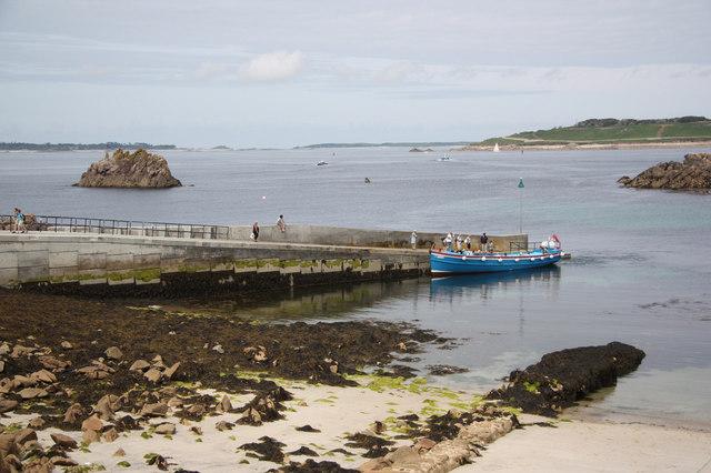Porth Conger quay