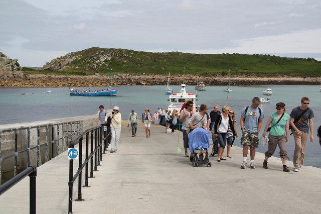 St Agnes' quay