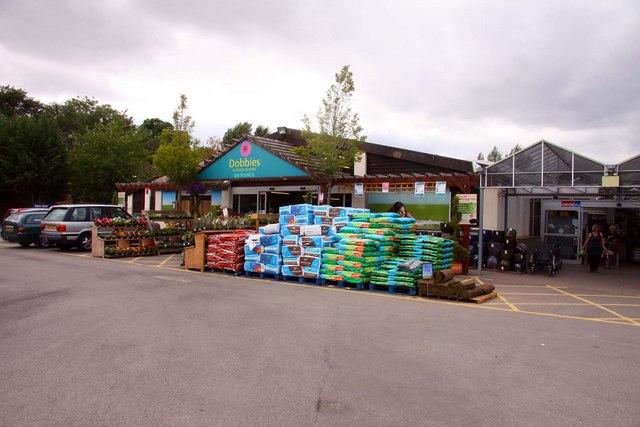 Dobbies Garden Centre near Shinfield