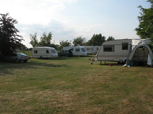 Caravan site at Yatehouse Farm