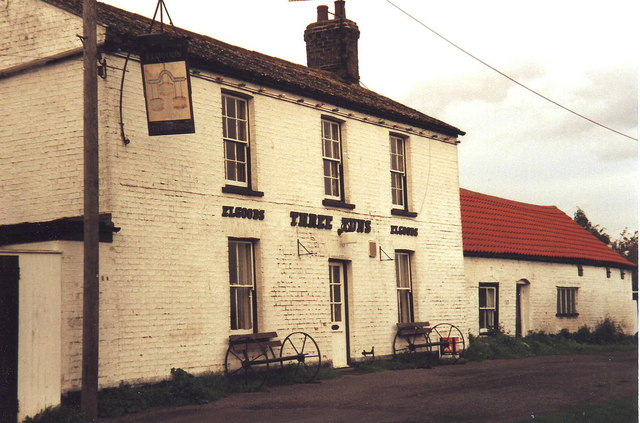 The Three Tuns Pub, Welney, Cambridgeshire