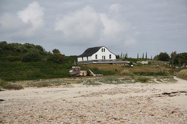 The Gugh farmhouse