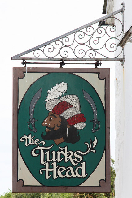 The sign of The Turk's Head