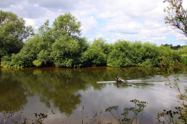 Rowing on the Wye