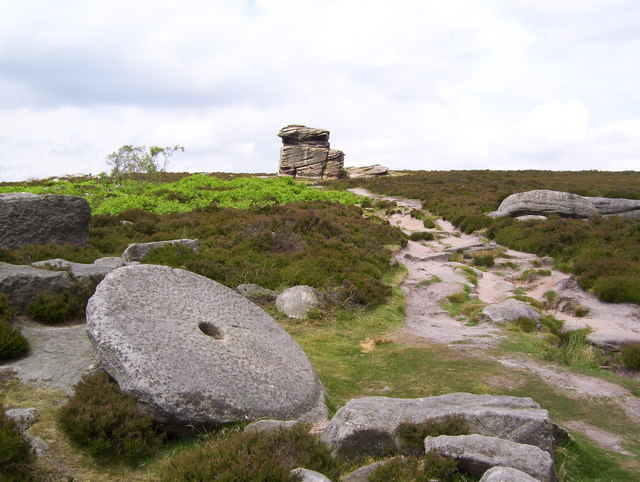 A grindstone and Mother Cap