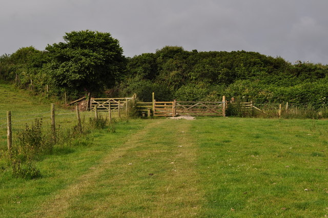 A footpath from Lee to Damage Barton