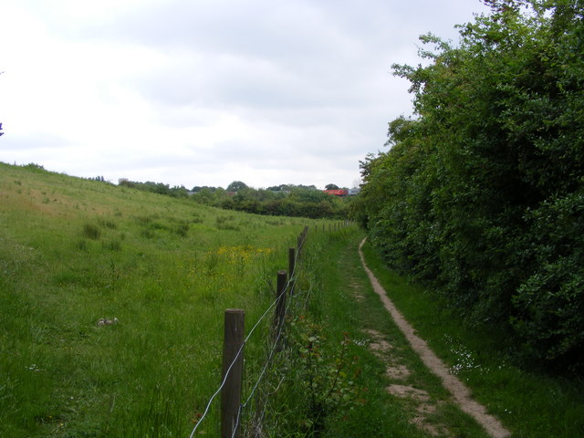 Bridleway towards Clickett Hill