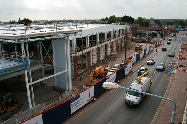 Building Beeston Tesco 5th July 2010