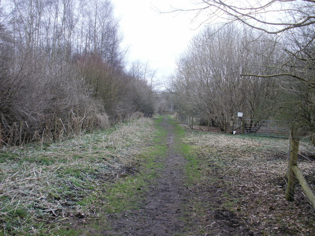 Muddy track, Ponthir water works