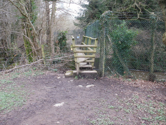 Stile on a bridge, Ponthir