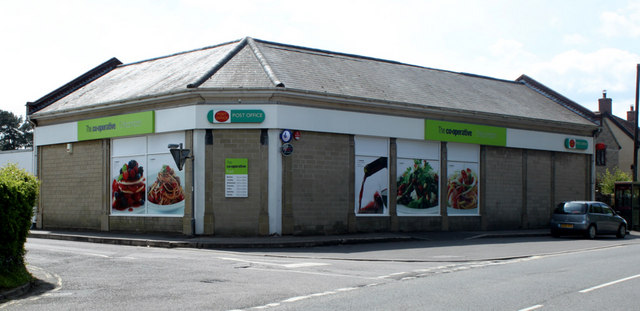 2010 : Post Office and Co-operative Store, Chilcompton