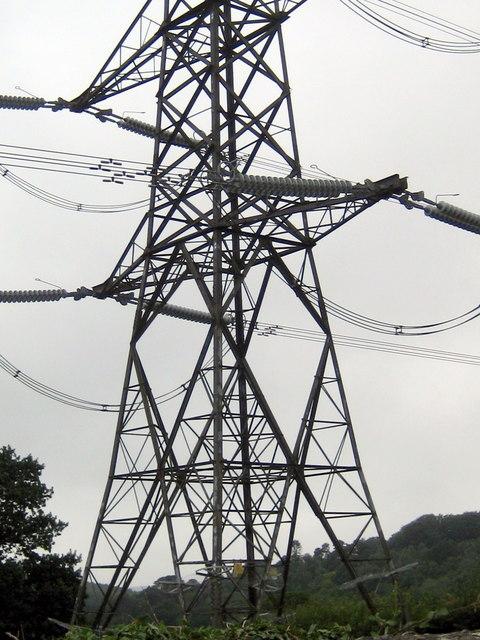 Electricity Pylon - Fishpond Bottom