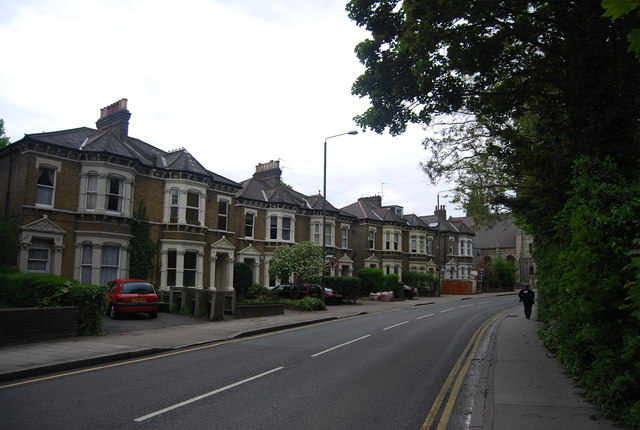 Victorian houses, Bromley Rd